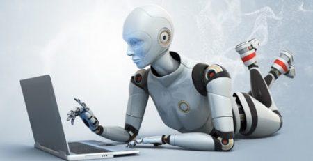 AI White Robot